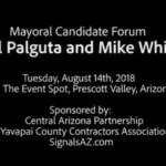 mayoral debate on water prescott valley