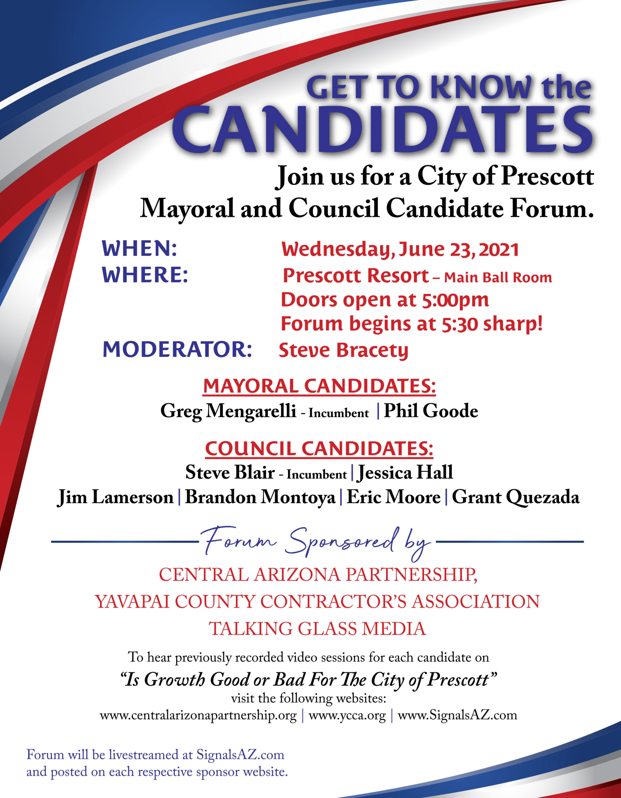 get to know the candidates